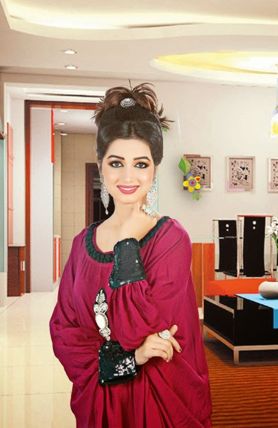 Cute And Stylish Baby Girl Wallpaper Most Beautiful Anum Fayyaz Images Hd Wallpaper All 4u