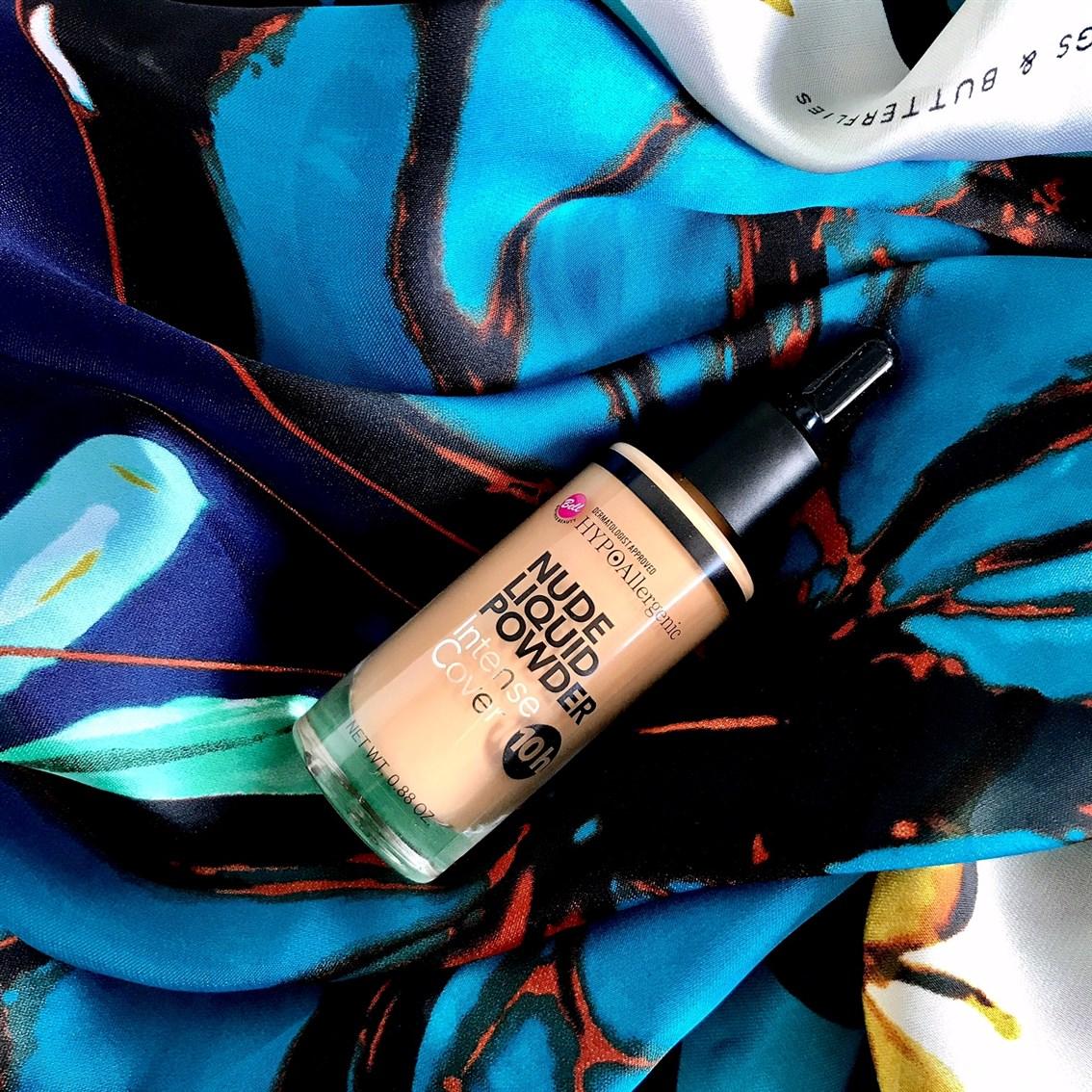 podkład Bell Hypoallergenic Nude Liquid Powder 04 golden beige