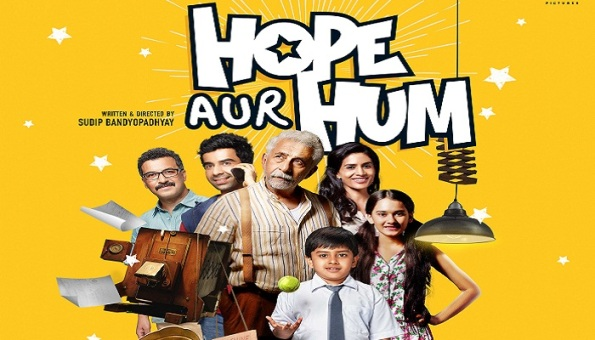 Hope Aur Hum new upcoming movie first look, Poster of Naseeruddin Shah, Sonali Kulkarni next movie download first look Poster, release date