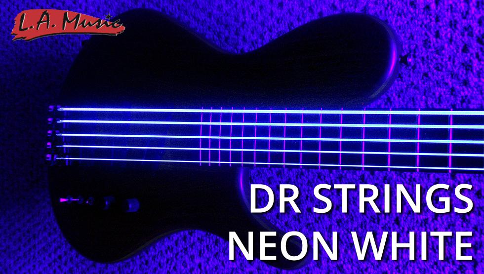 dr strings k3 neon hi def white electric lite guitar strings l a music network. Black Bedroom Furniture Sets. Home Design Ideas