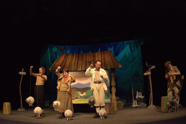 Z dzieckiem do teatru. Rozdajemy bilety do krakowskiej Groteski!