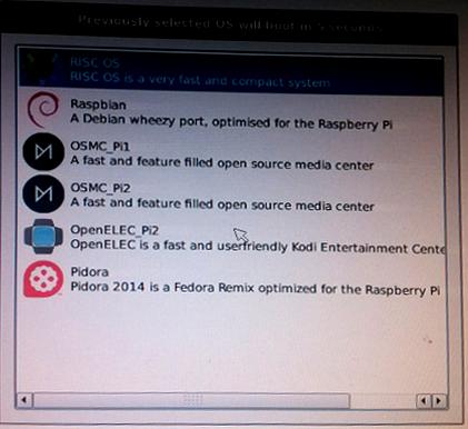 raspberrypi OS
