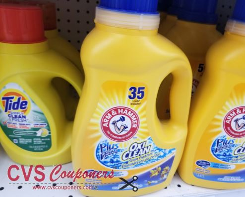 Arm & Hammer Power paks cvs deal 5-5-5-11