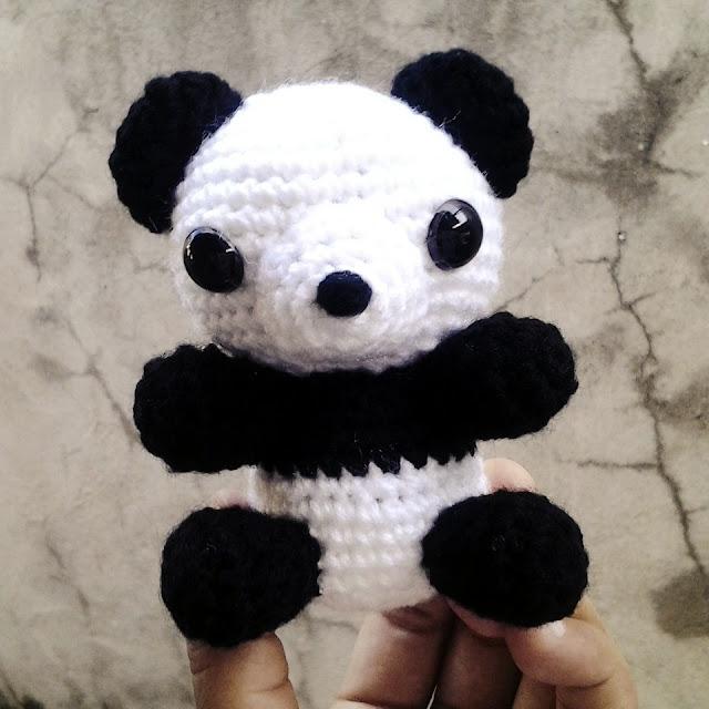 amigurumi panda - nephithyrion