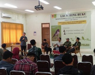 Launching Buku Burung Kampus UNY Karangmalang