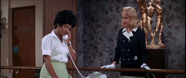 Nichelle Nichols and Sandra Dee