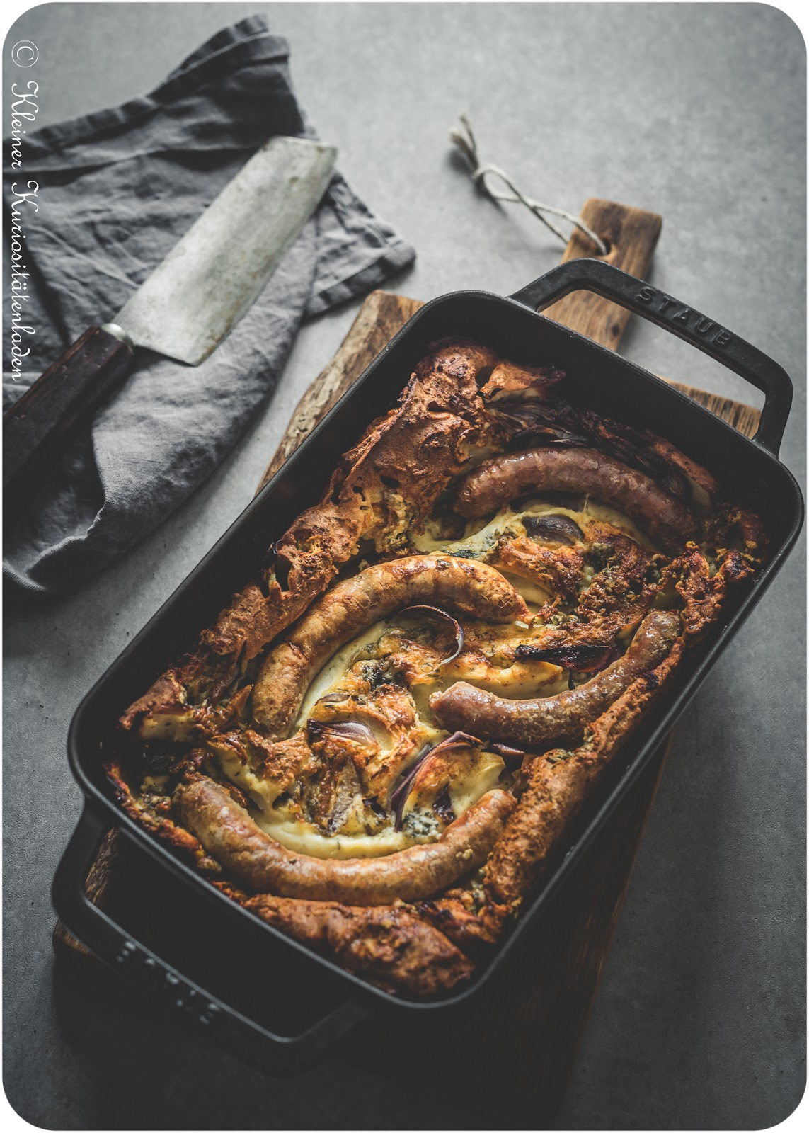The Breakfast Club ~ British Breakfast: Toad in the Hole