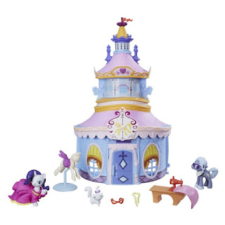 MLP Rarity Friendship is Magic Collection Carousel Boutique