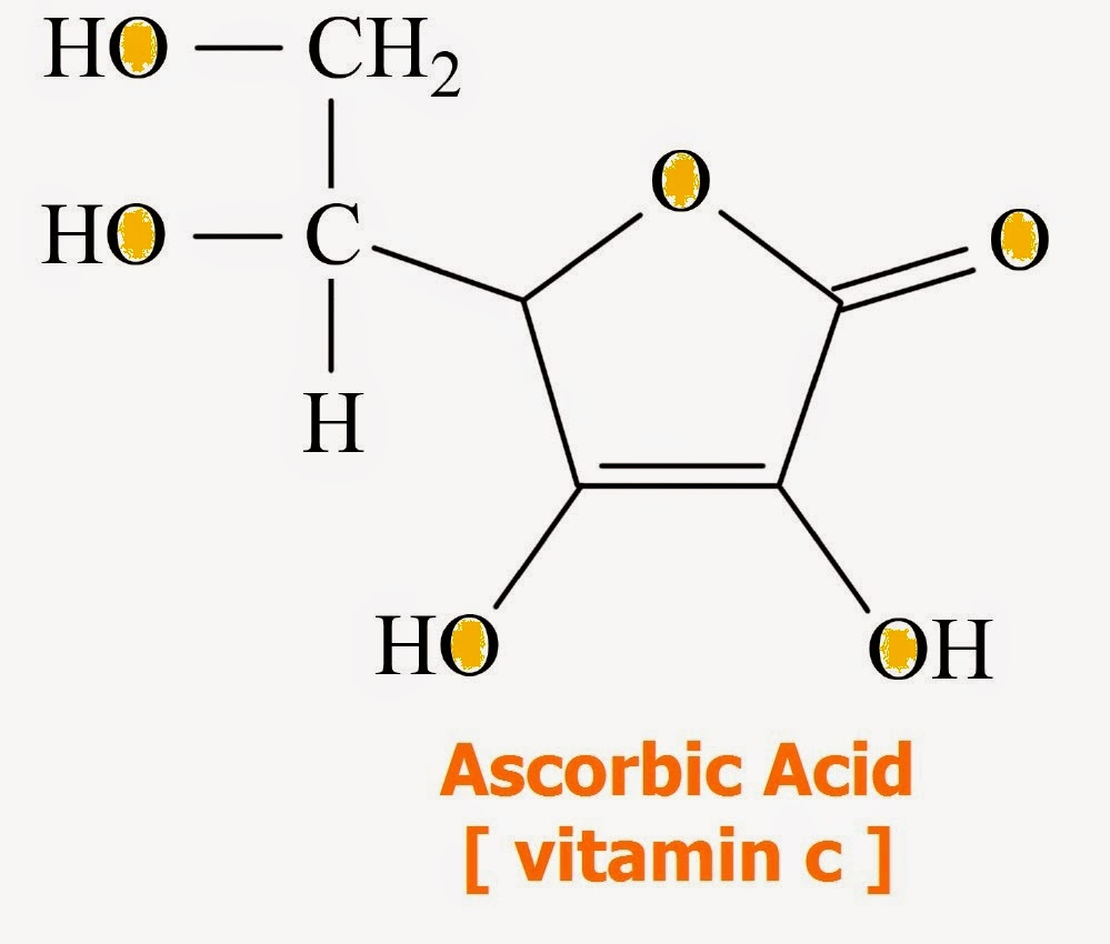 chemical bonds ascorbic acid vitamin c