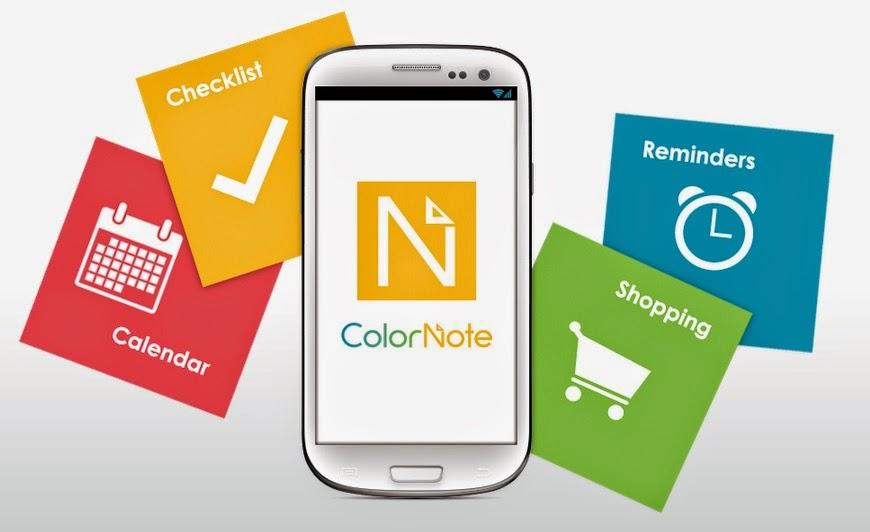 [App Spotlight]色彩繽紛「ColorNote」,幫你記下生活大小事!|數位時代
