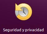Seguridad y privacidad Tablero