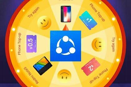 Cara mendapatkan Smartphone & Pulsa dari aplikasi SHAREit