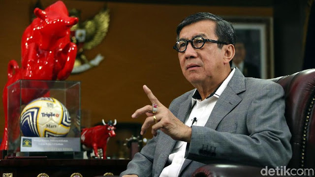 Menkum HAM: Notaris Daftarkan 2019PrabowoPresiden Pakai Siasat Nakal