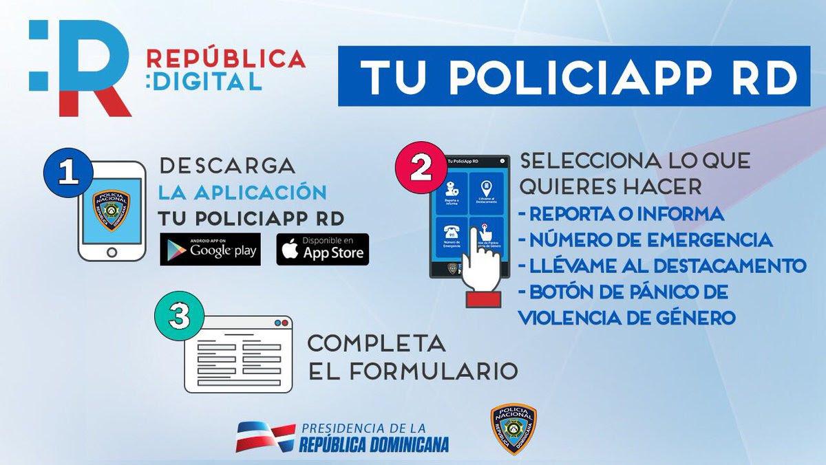 Tu PoliciApp RD es sencilla de usar