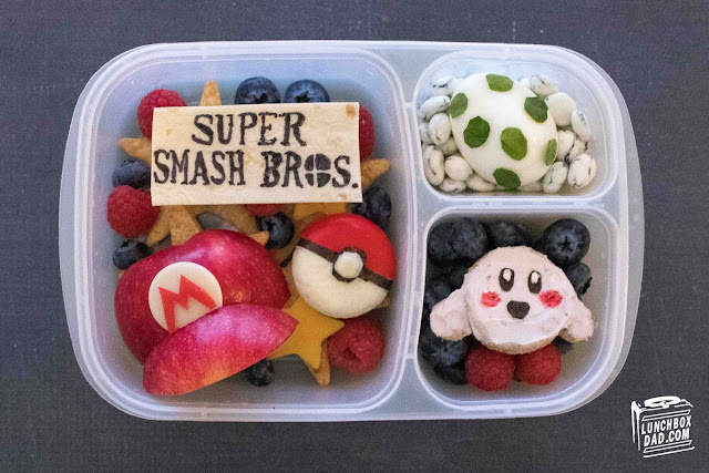 How to make a Nintendo Super Mario Bros. Ultimate lunch for your kids!