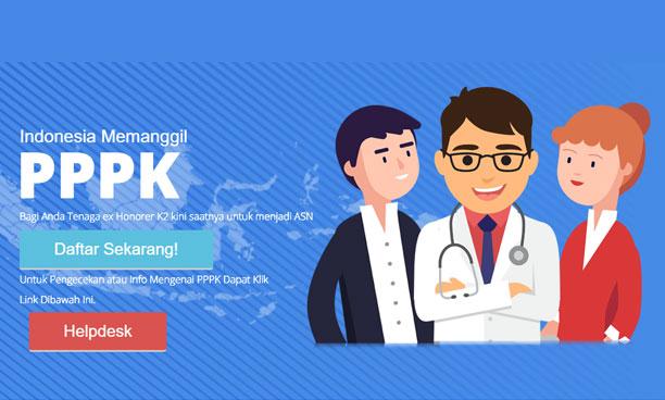 Pendaftaran PPPK (P3K) 2019 Telah Dibuka
