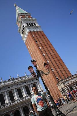 Campanile in Piazza San Marco in Venezia