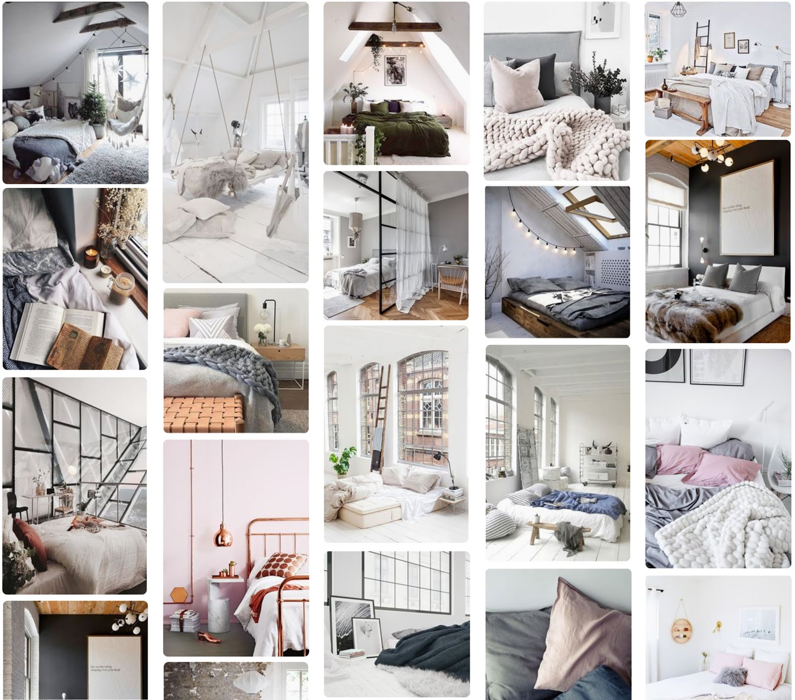 pinterest dream bedroom collage