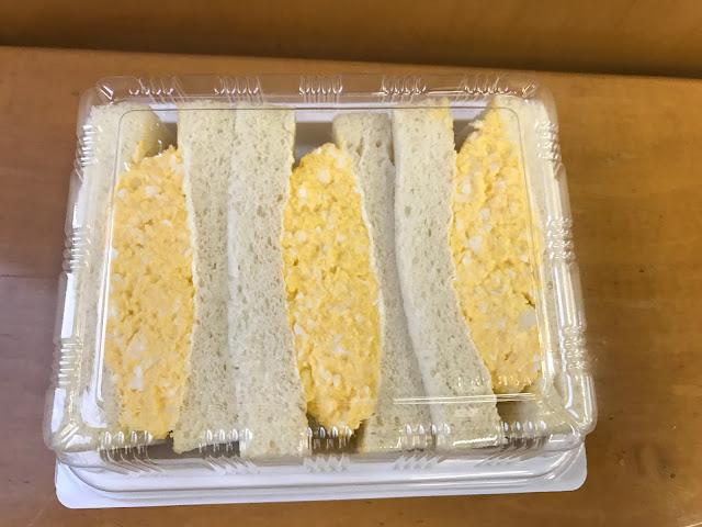 トランドールふんわりたまごのサンドイッチ(内装1)