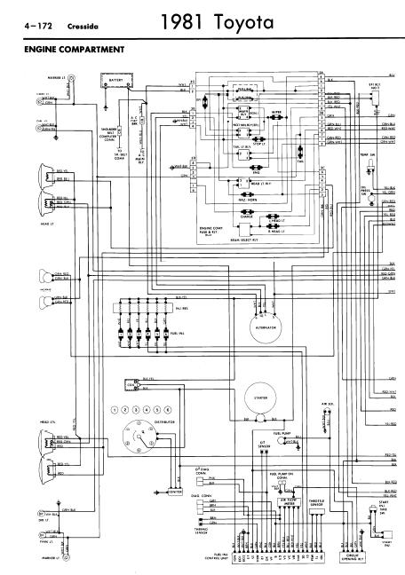 1991 Toyota Cressida Wiring Diagram Original FULL HD ...
