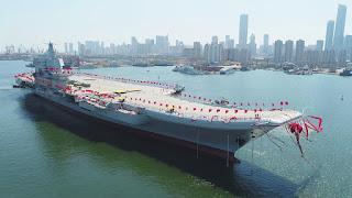 Kapal Induk Tipe 001A