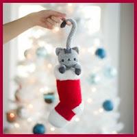 Gatito navideñoa amigurumi