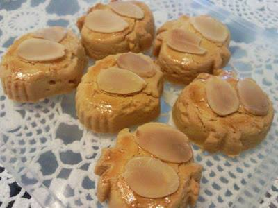 resepi biskut badam