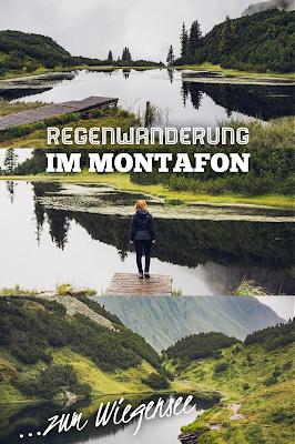 Wanderung zum Wiegensee ein echter Geheimtipp bei Regenwetter! Super Schlechtwetter Wanderung an der Grenze zwischen Vorarlberg und Tirol. Wandern Montafon Verwall 21