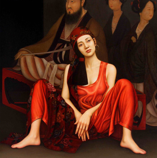 "Paintings by ""Yang Gao"""