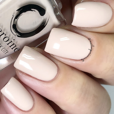 heroine NYC nude attitude swatch the nude romantics collection