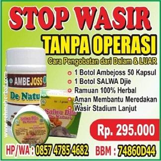 Obat Ampuh STOP Wasir Tanpa Operasi