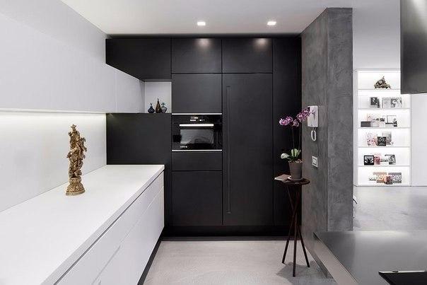 современная кухня в стиле loft