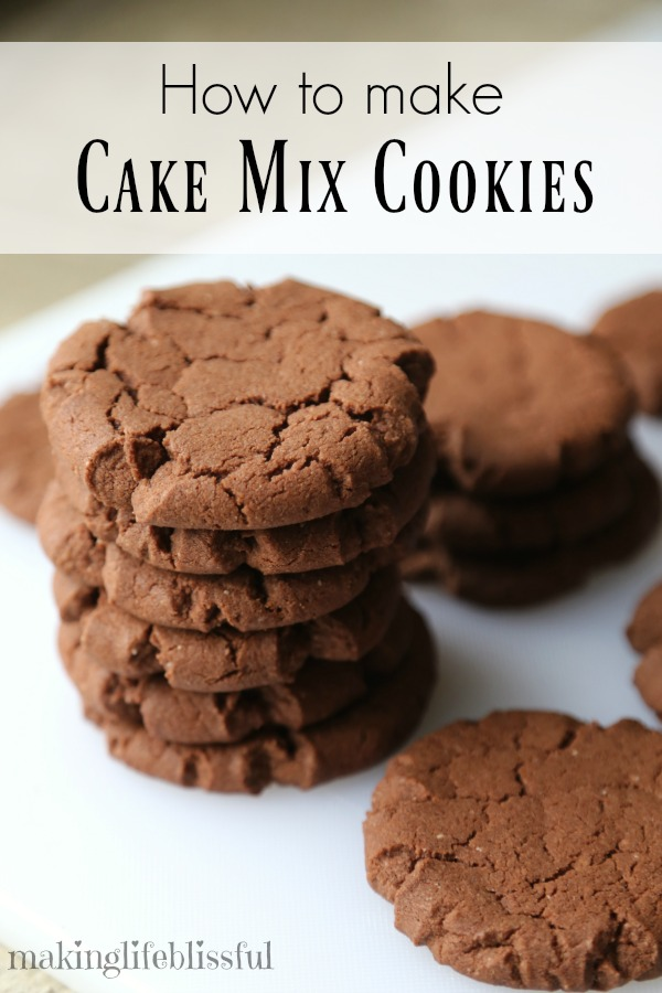 How To Use Betty Crocker Cake Mix To Make Cookies
