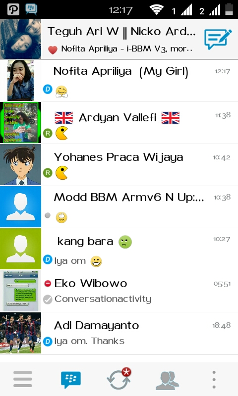 i-bbm v3 for android like iphone
