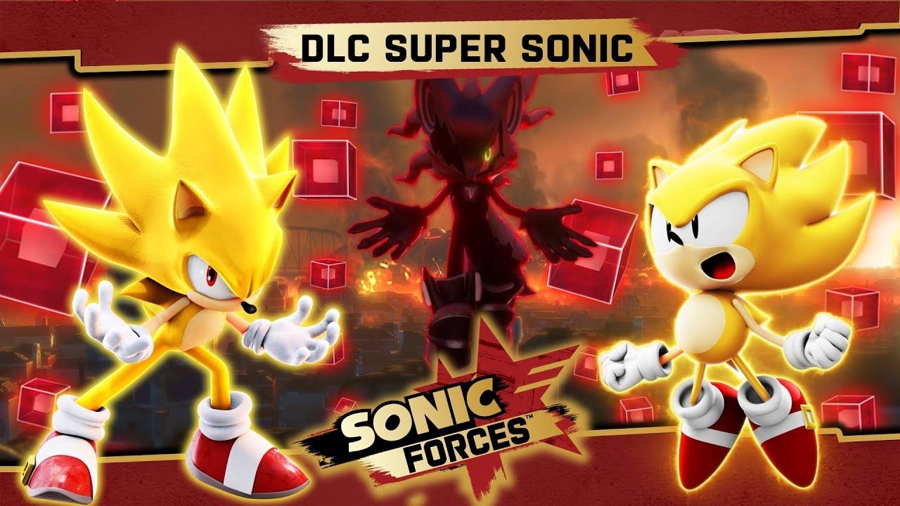 DLC De Super Sonic Para Sonic Forces Ser Gratuito Para