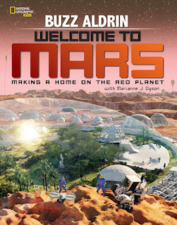 Welcome to Mars by Buzz Aldrin book cover