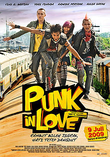 Film Komedi Indonesia Terlucu Punk in Love