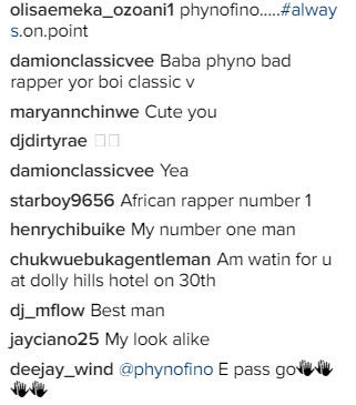 African rapper number one! - Fans gush over Phyno