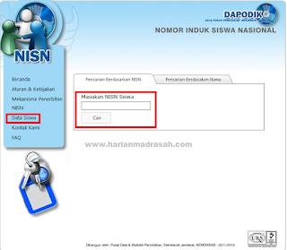 Cara Cek Validitas NISN  untuk Update Data Siswa di EMIS