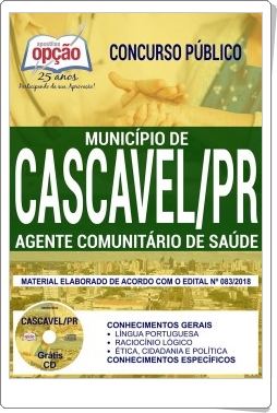 apostila concurso Município de Cascavel 2018