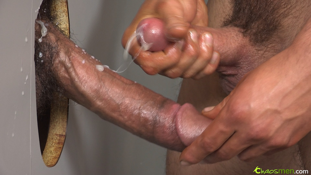 Black men glory hole