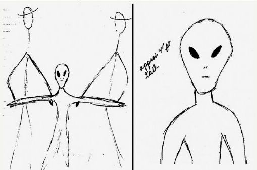 phantoms and monsters pulse of the paranormal 1941 Chevy Truck 1999 drawings by charlette mann based on her memory of the 1941 photograph