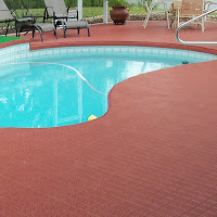 Greatmats hotel pool area flooring tiles