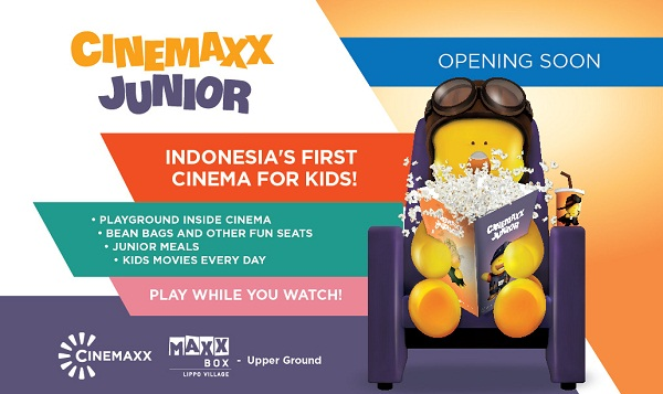 Cinemaxx Junior Opening Soon