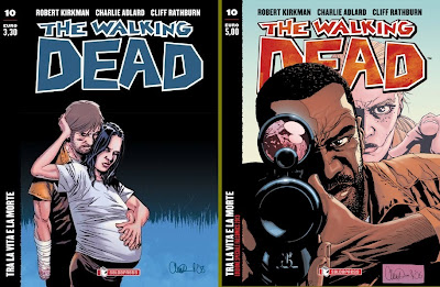 The Walking Dead - #10 (edicola + variant cover) - Tra la vita e la morte