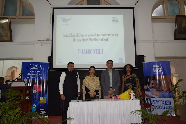 Tata ClassEdge and Hyderabad Public School (HPS) partner to enhance learning in schools