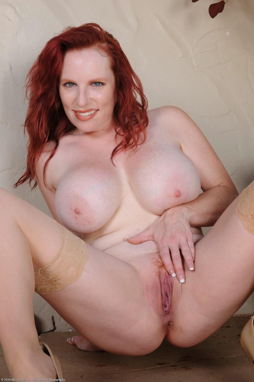 Redhead nude milf
