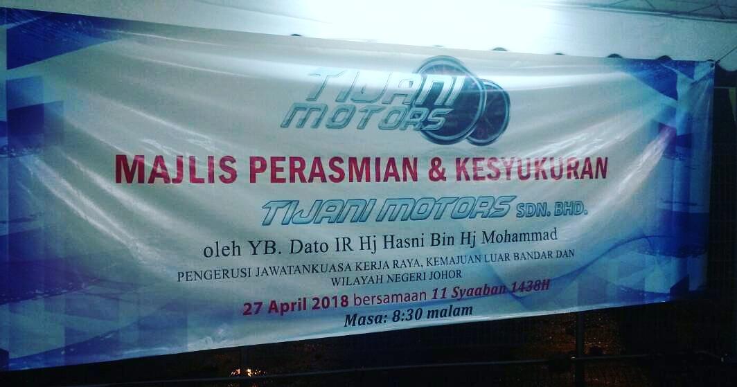 Tijani Motors Penjual Kenderaan Import , Baharu Dan Terpakai Di Pontian , Johor