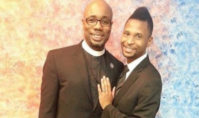 Male pastor in US says his Male wife is 3 months pregnant while members rant and left church