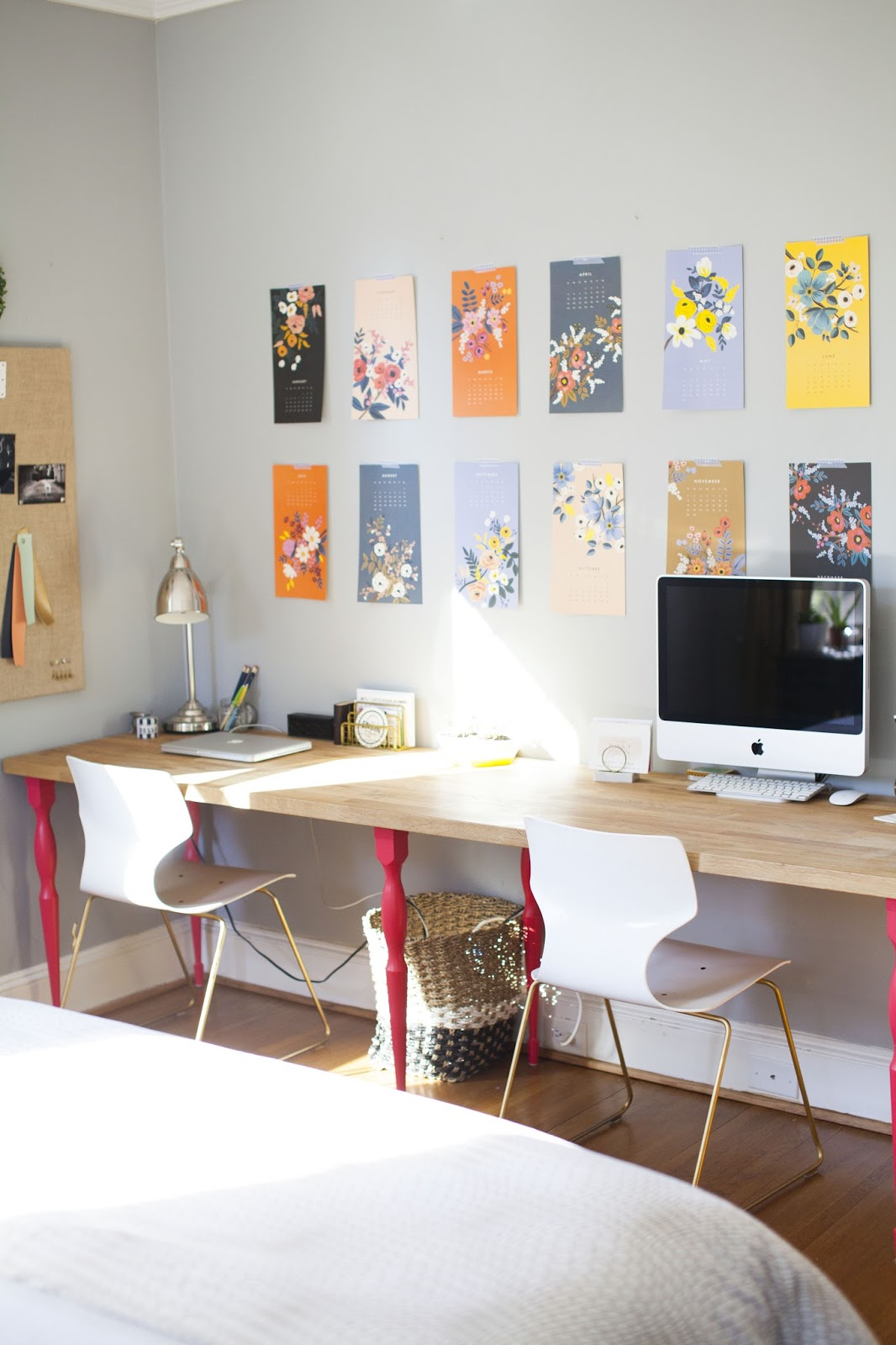 Terrific Back To School A Well Organized Office Design Post Interiors Largest Home Design Picture Inspirations Pitcheantrous